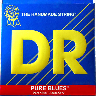 DR Pure Blues Custom Electric Guitar Strings 13-52