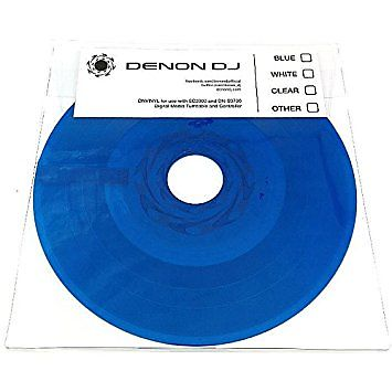 Denon Dj Dnvinyl Replacement Vinyl For Sc3900 And Dn S3700 Turntables Blue