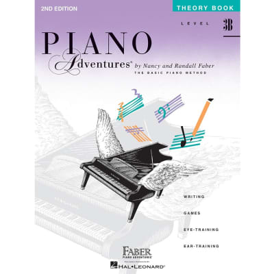Piano Adventures: A Basic Piano Method - Theory Book Level 3B