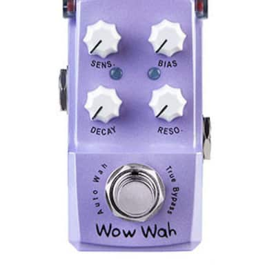Joyo Ironman JF-322 Wow Wah Autowah Pedal Mini Guitar Effect Pedal Ships Free for sale
