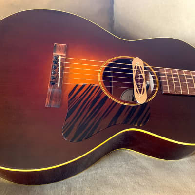 Fairbanks F-20 (L-00 Body Shape) w/ Torrified Adirondack Top, Mahogany, Two Pickups, 2020 Sunburst for sale