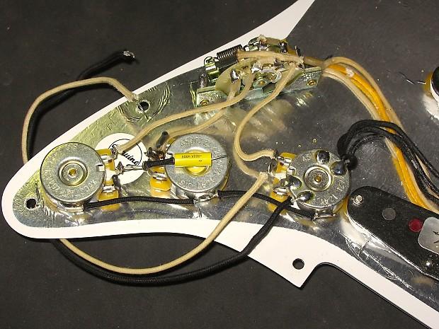 Fender Custom Shop Texas Specials Loaded Pickguard Reverb