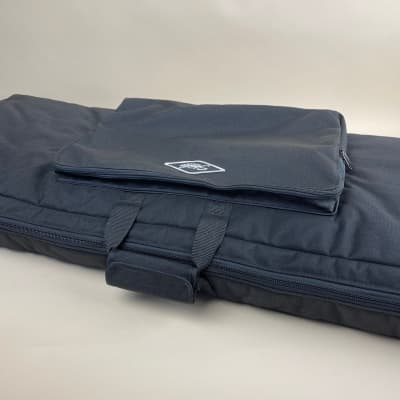 Studio Slips Double Padded Briefcase Gig Bag for Hammond-Suzuki XK-5, XK-3 or XK-3c Black Nylon Canv