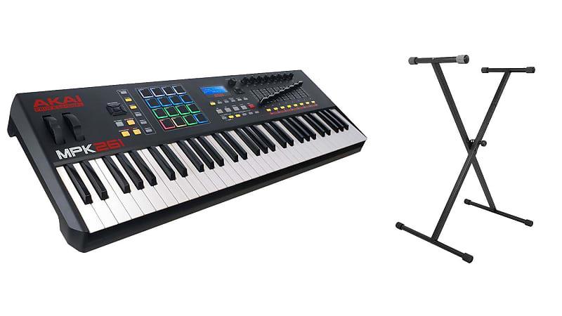 Akai MPK261 w/ On-Stage Keyboard Stand Bundle