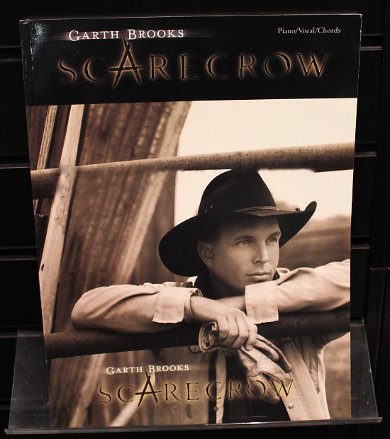 Garth Brooks Scarecrow: Piano/Vocal/Chords Songbook | Reverb