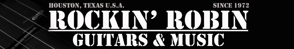 Rockin' Robin Guitars and Music