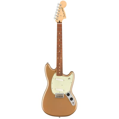 Fender Mustang Firemist Gold PF for sale