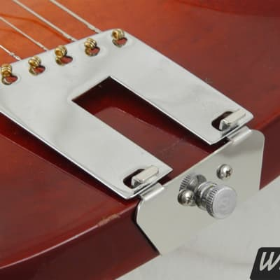 The original left-handed 6-string trapeze tailpiece conversion kit for Rickenbacker guitars.