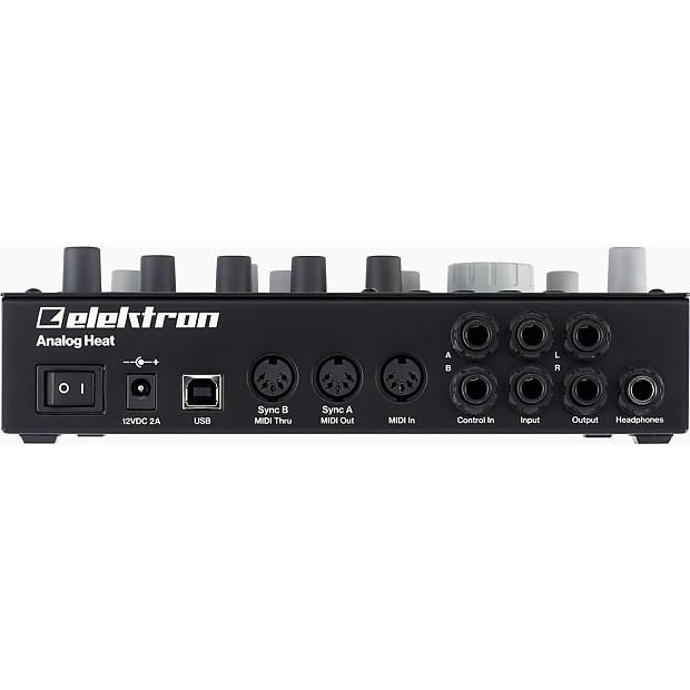 Elektron Analog Heat Stereo Analog Sound Processor NEW | Reverb