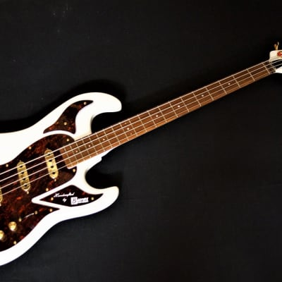 Burns Marquee Bass white for sale