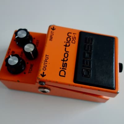 Boss Distortion  DS-1 1991 orange for sale