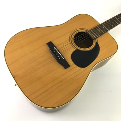 Hofner Made in West Germany  Dreadnought Acoustic Guitar Solid Spruce Top Mahogany Booming D18 Tone for sale