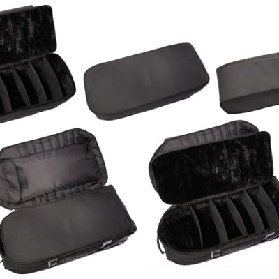 Ahead Bags - AR5038E - Adjustable Padded Insert Case for Electronic Pads and Components (Fits into AA5038W)