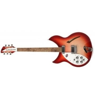 Rickenbacker 330 Semi-Hollow, Fireglo, Left Handed for sale