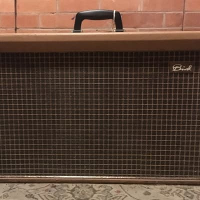 Bird Golden eagle amplifier 1962 harp guitar classic British amp 15W for spares/repair for sale