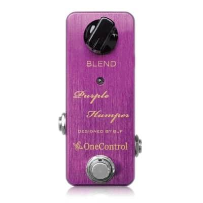 One Control BJF Purple Humper Mid Boost Guitar Effect Pedal