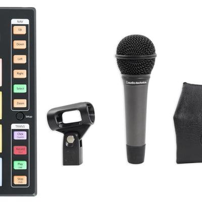 PRESONUS ATOM SQ MIDI USB Ableton DJ Pad Controller+Audio Technica Microphone