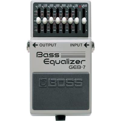 Boss GEB7 Bass Equalizer 7 Band