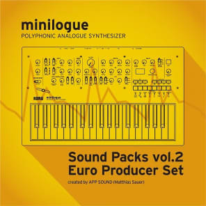 "Korg minilogue/Sound Packs vol.2 ""Euro Producer Set"""