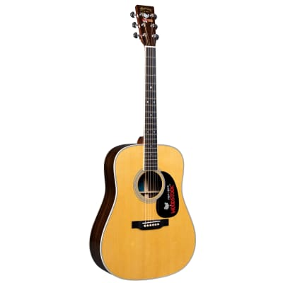 Martin D-35 Woodstock 50th Anniversary Sitka Spruce / Rosewood Dreadnought with Woodstock Pickguard