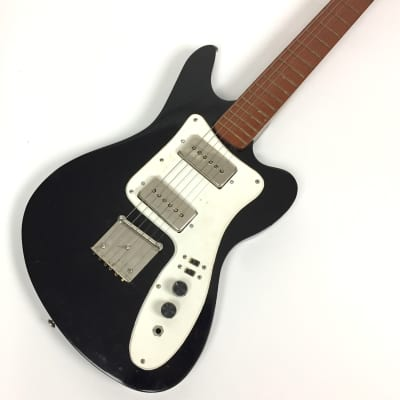 Giannini Sonic Solid Body 1970's Black for sale