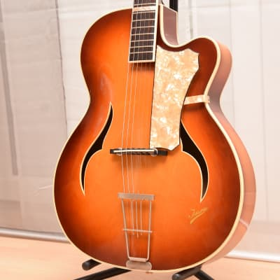 Isana Elvis Archtop – 1960s German Vintage Archtop Jazz Guitar / Gitarre for sale