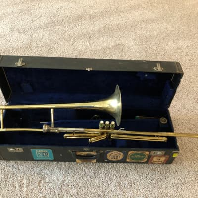 Rare Vintage DEG Caravelle Classic Bb Valve Trombone and case