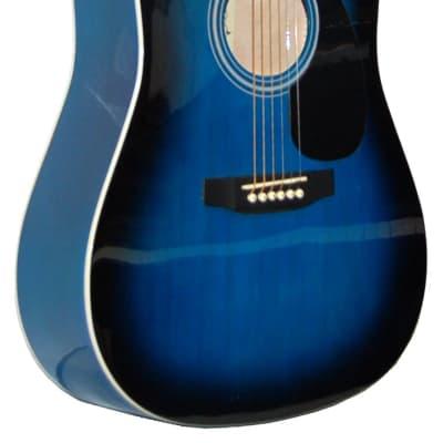 Madera LD301-BLS  Linden 1/2 Size Acoustic, Blue Burst for sale