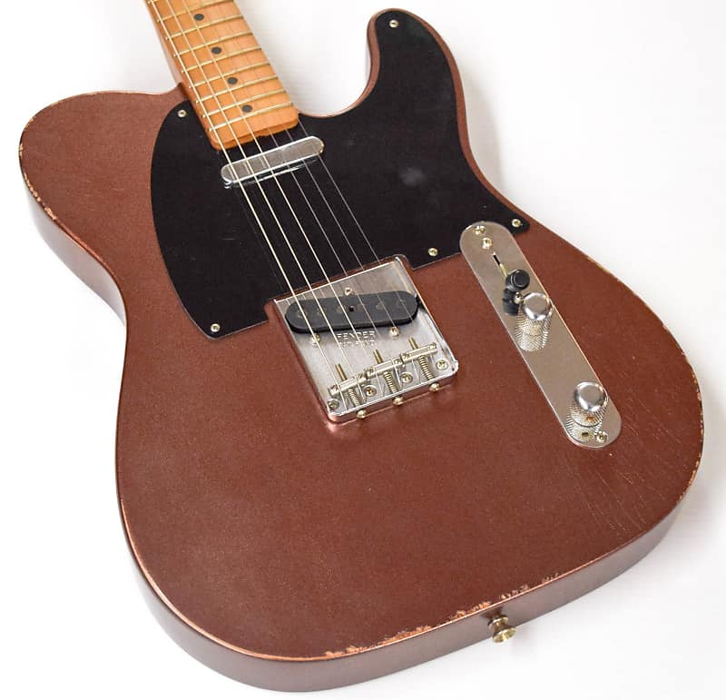 fender limited editon road worn 50 39 s telecaster copper reverb. Black Bedroom Furniture Sets. Home Design Ideas