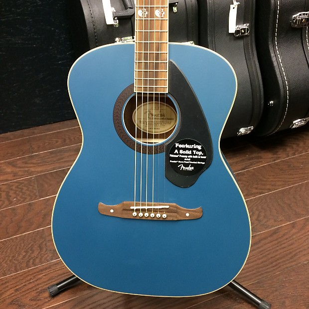 Fender Limited Edition Tim Armstrong Hellcat Acoustic Guitar Sapphire Blue