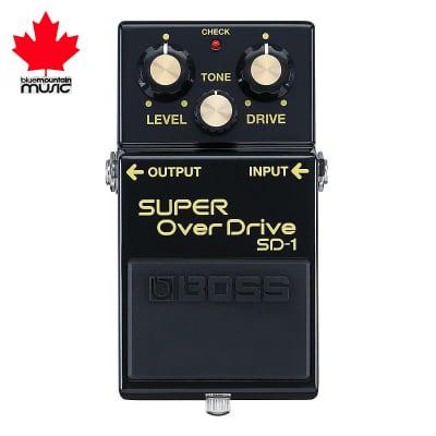 Boss SD-1-4A 40th Anniversary Super OverDrive