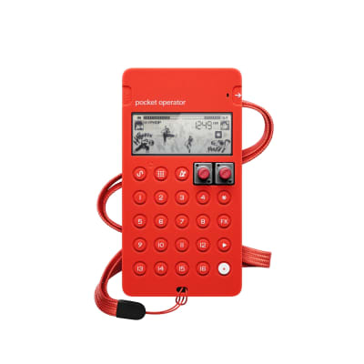 Teenage Engineering CA-X Pocket Operator Pro Silicone Case Red