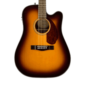 Fender CD-140SCE Acoustic-Electric Guitar - Sunburst with Case for sale