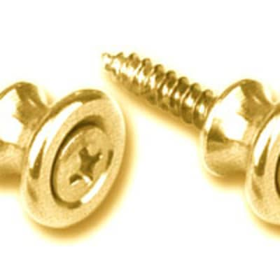 Gotoh Gibson Style Brass Strap Buttons