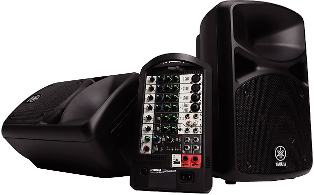 yamaha stagepas 400i portable pa fuller 39 s guitar reverb. Black Bedroom Furniture Sets. Home Design Ideas