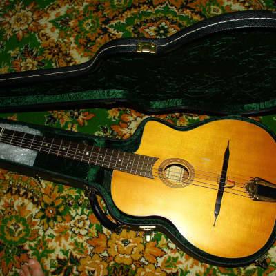 Cigano GJ-0 Gypsy Jazz Guitar, Oval-Hole Spruce top for sale