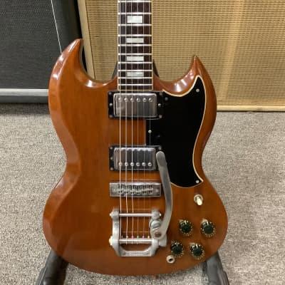 1973 Gibson SG Standard Walnut Bigsby
