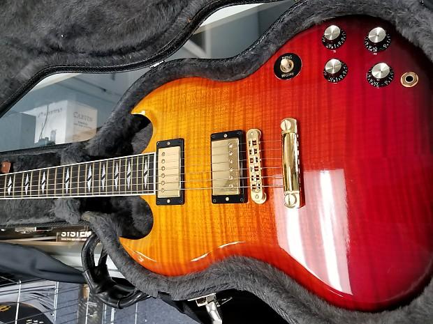Gibson SG Supreme Lava Burst   Reverb