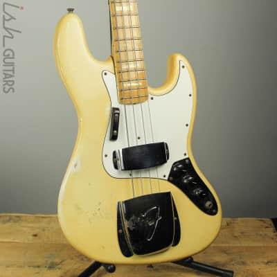 1976 Fender Jazz Bass Rare Olympic White