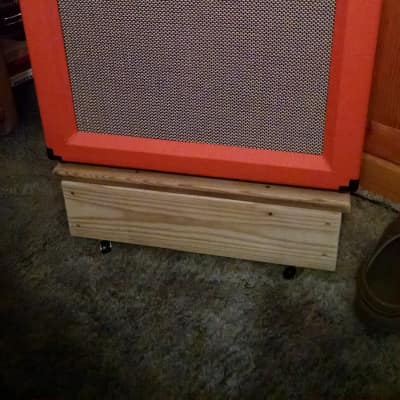 Orange CR60 2016 Orange Tolex, and Custom Cover.👽