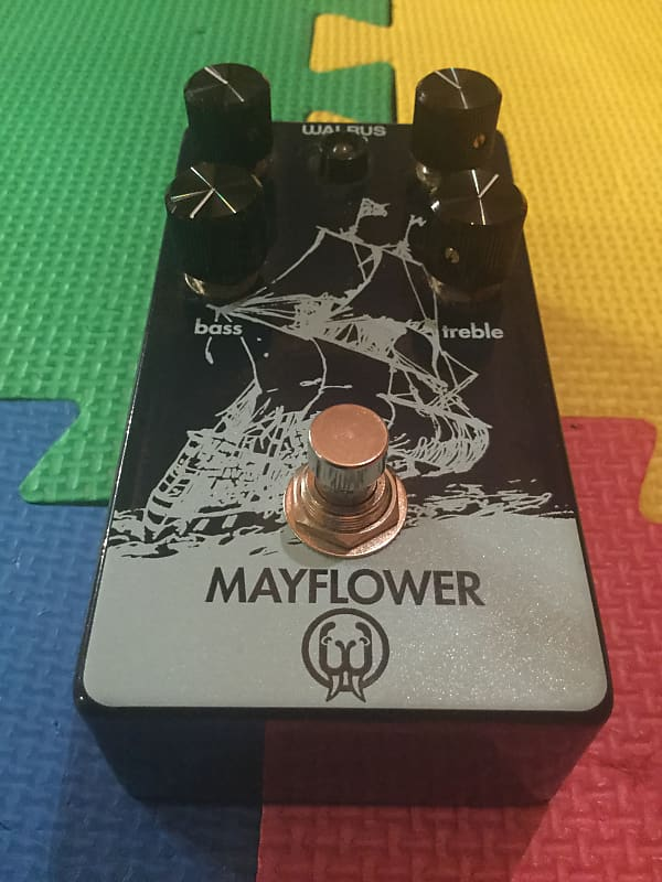 walrus audio mayflower overdrive pedal mike that pedal guy reverb. Black Bedroom Furniture Sets. Home Design Ideas