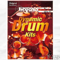 "Roland New ""Sealed in Box"" SRX01 Dynamic Drum Kits Wave Expansion Board - SRX-01"