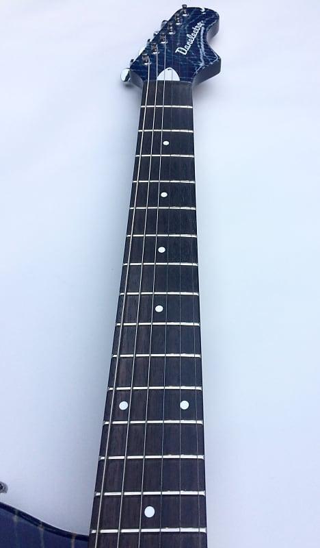 danelectro 39 67 heaven hawk electric guitar blue alligator reverb. Black Bedroom Furniture Sets. Home Design Ideas