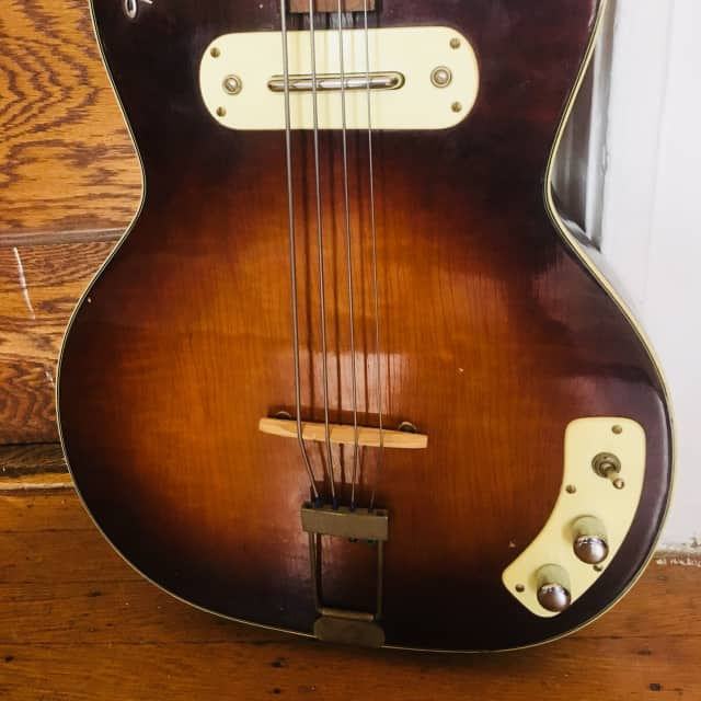 Kay K-5965 Bass Sunburst 1959 image