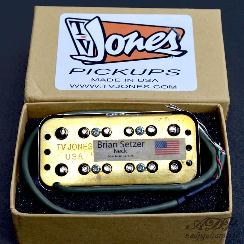 Tv Jones Brian Setzer Signature Universal Mount Chrome Neck Guitar Pickup BSN-UV