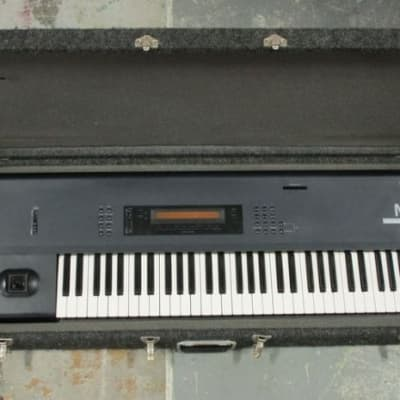 Korg M1 61-Key Synth Music Workstation with Hard Case