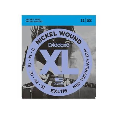 D´Addario EXL116 11-52 Electric Strings Medium Top/Heavy Bottom