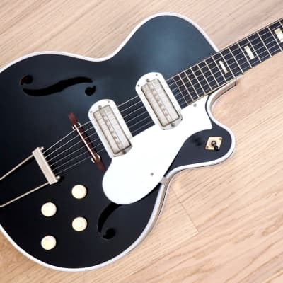 1955 Harmony H63 Espanada Vintage Harmometal Archtop Collector-Grade w/ Gibson P13s, Old Kraftsman for sale