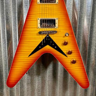 Hamer Vector Mahogany Flying V Cherry Sunburst Electric Guitar & Bag #1008 for sale