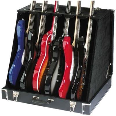 Stagg GDC6 Gitarrenständer im Koffer for sale